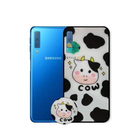 خرید کاور گوشی سامسونگ Samsung Galaxy A7 2018 طرح رئیس مزرعه