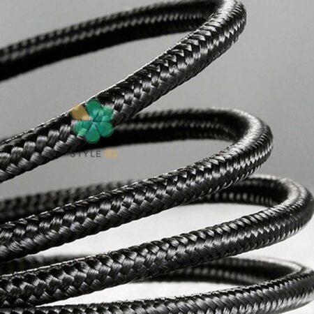 خرید کابل شارژ لایتنینگ بیسوس Baseus Cafule Metal Data 1m 2.4A