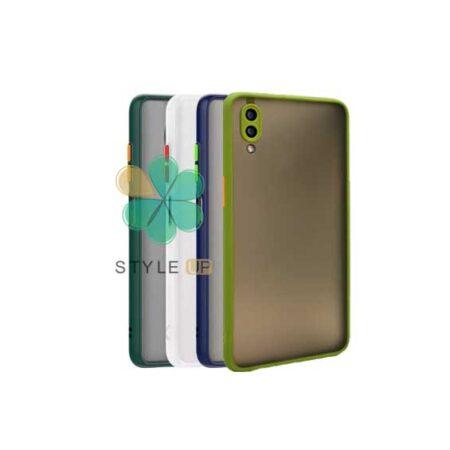 خرید قاب گوشی سامسونگ Galaxy A02 مدل پشت مات محافظ لنزدار