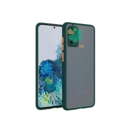 خرید قاب گوشی سامسونگ Galaxy F02s مدل پشت مات محافظ لنزدار