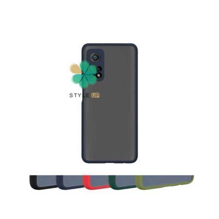 خرید قاب گوشی شیائومی Xiaomi Mi 10T 5G مدل پشت مات محافظ لنزدار