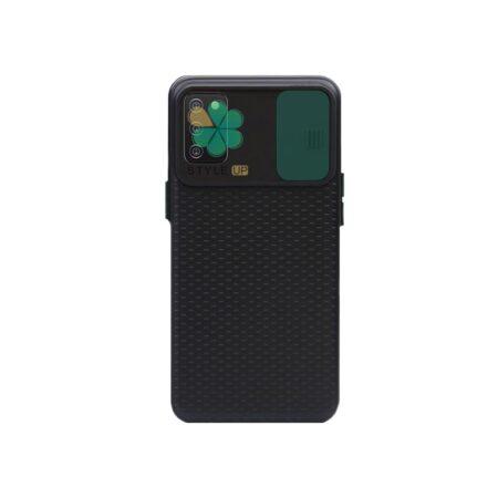 خرید کاور ضد ضربه گوشی سامسونگ Galaxy F02s مدل کم شیلد رنگی