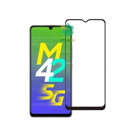 خرید گلس سرامیکی گوشی سامسونگ Galaxy M42 5G مدل تمام صفحه