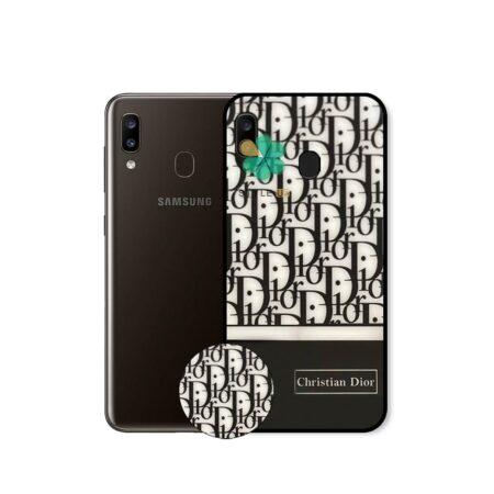 خرید قاب گوشی سامسونگ Samsung Galaxy A20 طرح Christian Dior