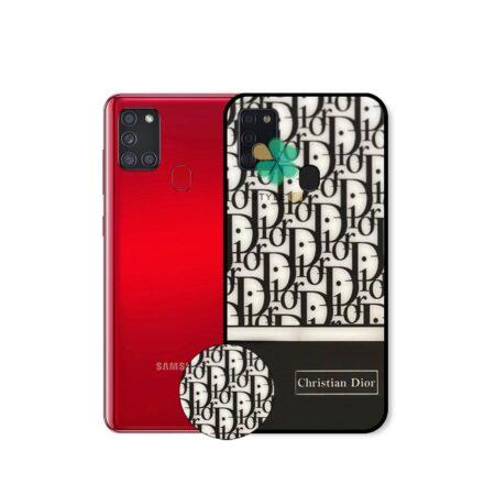 خرید قاب گوشی سامسونگ Samsung Galaxy A21s طرح Christian Dior