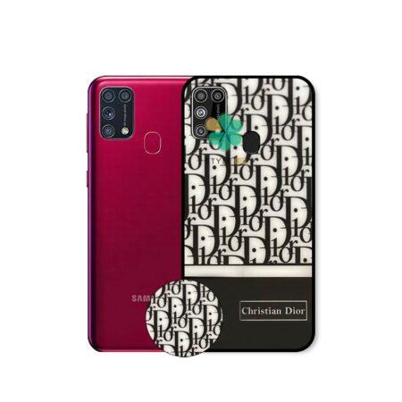 خرید قاب گوشی سامسونگ Galaxy M31 طرح Christian Dior