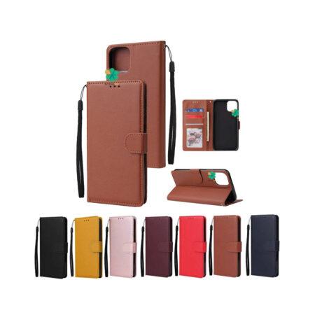 خرید کیف چرم گوشی سامسونگ Galaxy A12 مدل ایمپریال قفل دار