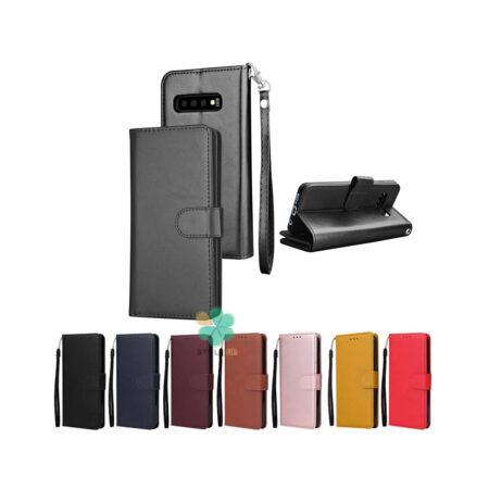 خرید کیف چرم گوشی سامسونگ Galaxy S10 Plus مدل ایمپریال قفل دار