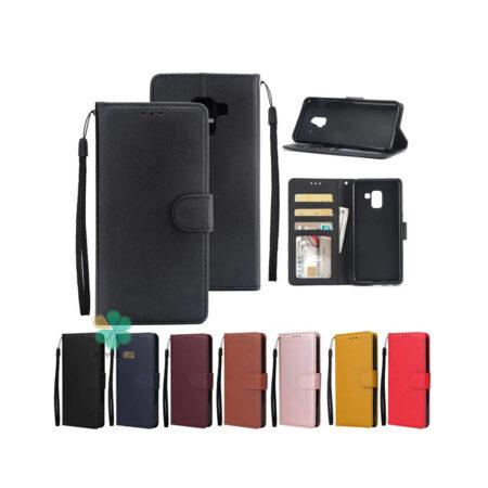 خرید کیف چرم گوشی سامسونگ Galaxy S9 مدل ایمپریال قفل دار