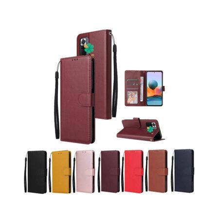 خرید کیف چرم گوشی شیائومی Redmi Note 10 مدل ایمپریال قفل دار