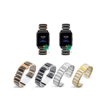 خرید بند ساعت ریلمی واچ Realme Watch 2 مدل سرامیکی Monowear