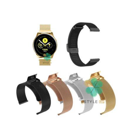 خرید بند متال ساعت سامسونگ Galaxy Watch Active مدل Florence