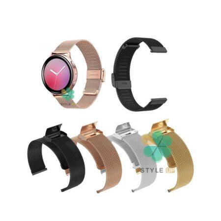 خرید بند متال ساعت سامسونگ Galaxy Watch Active 2 مدل Florence