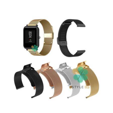 خرید بند متال ساعت شیائومی Xiaomi Amazfit Bip مدل Florence