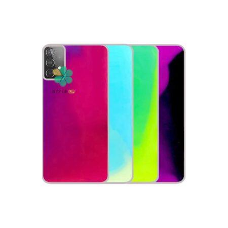 خرید قاب آکواریومی گوشی سامسونگ Samsung Galaxy A32 4G مدل شب رنگ