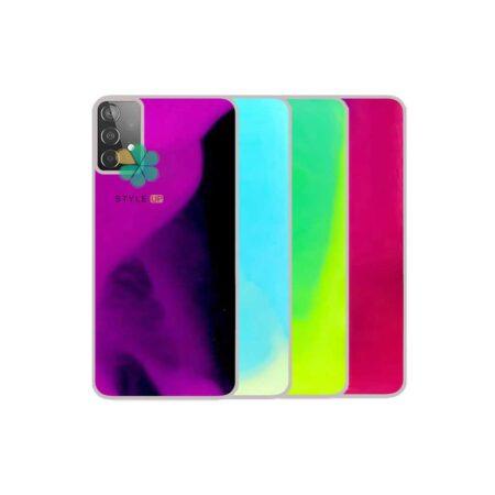 خرید قاب آکواریومی گوشی سامسونگ Samsung Galaxy A72 مدل شب رنگ