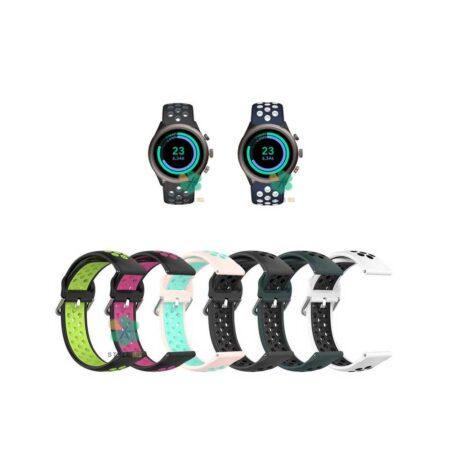 خرید بند ساعت فسیل اسپرت Fossil Sport مدل نایکی سگکی