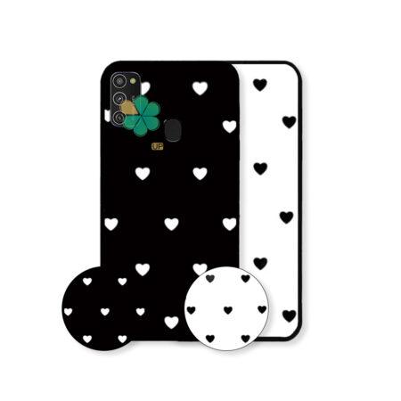 خرید قاب فانتزی گوشی سامسونگ Samsung Galaxy M21 طرح Heart