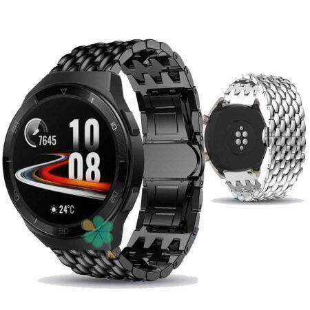 خرید بند ساعت هواوی واچ Huawei Watch GT 2e مدل فلزی طرح دراگون