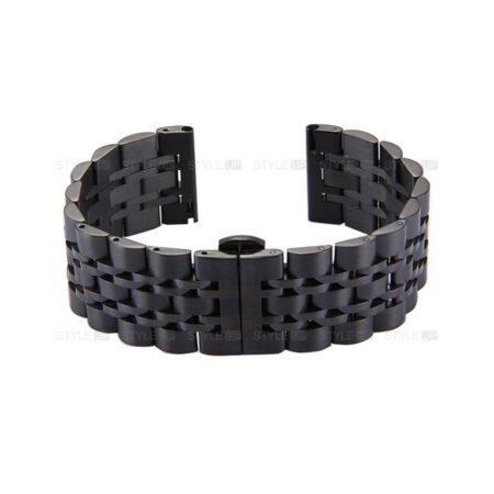 خرید بند ساعت هوشمند ال جی LG G Watch R W110 استیل رولکسی
