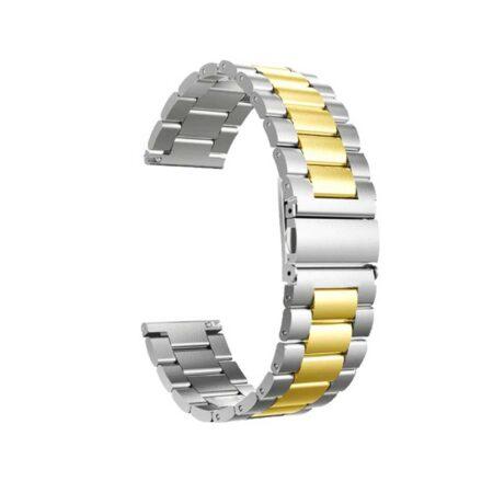 خرید بند ساعت ال جی LG G Watch R W110 مدل استیل دو رنگ