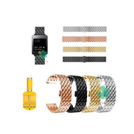 خرید بند ساعت ال جی LG G Watch W100 مدل فلزی طرح دراگون
