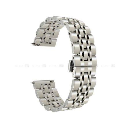 خرید بند ساعت هوشمند ال جی LG G Watch W100 استیل رولکسی