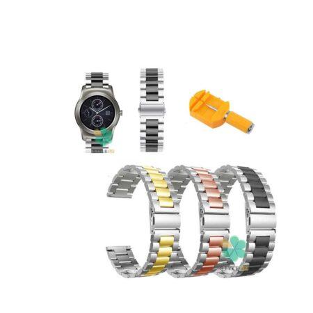 خرید بند ساعت ال جی LG Watch Urban Luxe مدل استیل دو رنگ