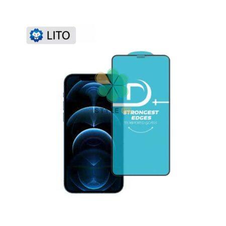 خرید گلس فیلتر دار گوشی آیفون Apple iPhone 12 Pro Max مدل D+ Lito