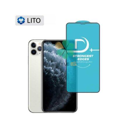 عکس گلس فیلتر دار گوشی آیفون Apple iPhone 11 Pro Max مدل D+ Lito