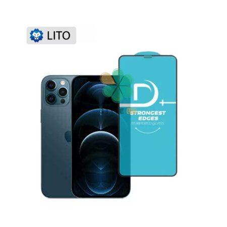 خرید گلس فیلتر دار گوشی آیفون Apple iPhone 12 Pro مدل D+ Lito
