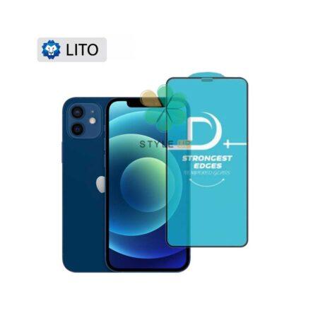 خرید گلس فیلتر دار گوشی آیفون Apple iPhone 12 مدل D+ Lito