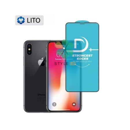 خرید گلس فیلتر دار گوشی آیفون Apple iPhone X / XS مدل D+ Lito