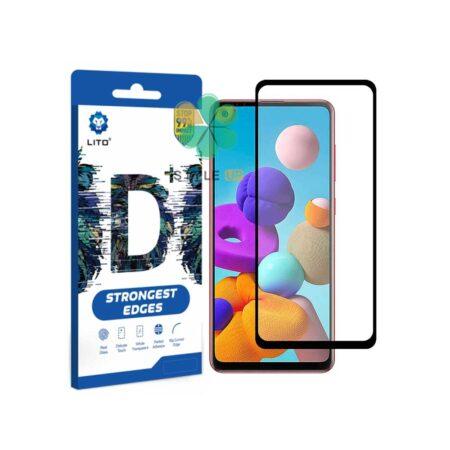 خرید گلس گوشی سامسونگ Samsung Galaxy A21s مدل D+ LITO
