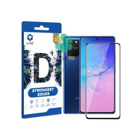خرید گلس گوشی سامسونگ Samsung Galaxy S10 Lite مدل D+ LITO
