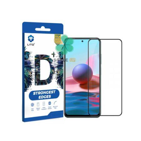 خرید گلس گوشی شیائومی Xiaomi Redmi Note 10 مدل D+ LITO