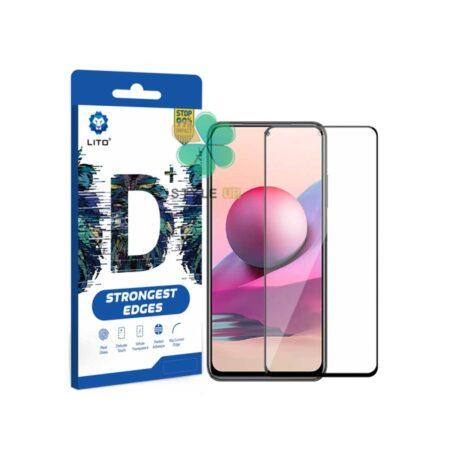 خرید گلس گوشی شیائومی Xiaomi Redmi Note 10S مدل D+ LITO