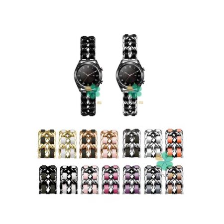خرید بند استیل ساعت هواوی Huawei Honor Watch Dream مدل چرمی زنجیری