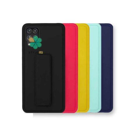 خرید قاب گوشی سامسونگ Galaxy M42 5G مدل سیلیکونی هولدردار