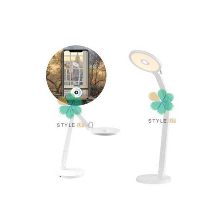 خرید چراغ مطالعه و وایرلس شارژر مومکس Momax Smart QL8
