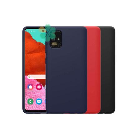 خرید قاب سیلیکونی نیلکین گوشی سامسونگ Galaxy A51 5G مدل Flex Pure