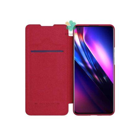 خرید کیف چرمی نیلکین گوشی وان پلاس OnePlus 9 Pro مدل Qin