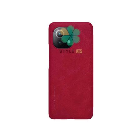 خرید کیف چرمی نیلکین گوشی شیائومی Xiaomi Mi 11 Lite / 5G مدل Qin