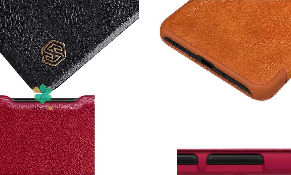خرید کیف چرمی نیلکین گوشی شیائومی Xiaomi Redmi K40 Pro مدل Qin