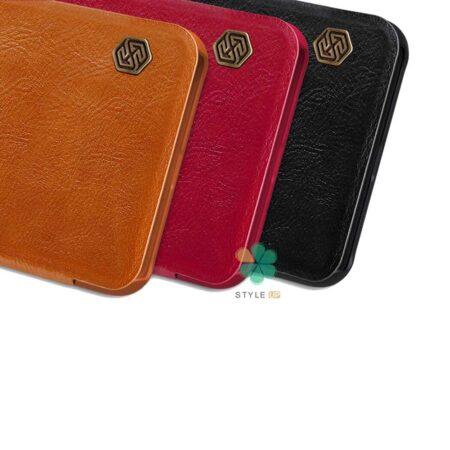 خرید کیف چرمی نیلکین گوشی شیائومی Redmi Note 10 Pro Max مدل Qin