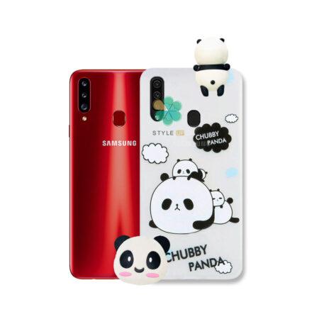 خرید قاب فانتزی گوشی سامسونگ Samsung Galaxy A20s مدل Panda
