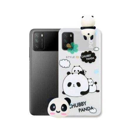 خرید قاب فانتزی گوشی شیائومی Xiaomi Poco M3 مدل Panda