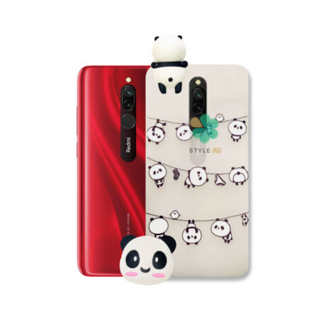 خرید قاب فانتزی گوشی شیائومی Xiaomi Redmi 8 مدل Panda