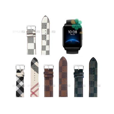 خرید بند ساعت ریلمی واچ Realme Watch 2 طرح لویی ویتون