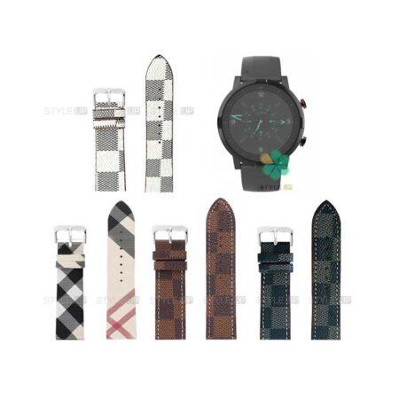 خرید بند ساعت شیائومی Xiaomi Haylou RT LS05S طرح لویی ویتون
